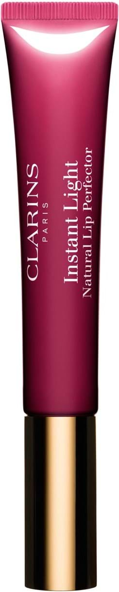 Clarins Instant Light Natural Lip Perfector Lipstick N° 08 Plum Shimmer 12 ml
