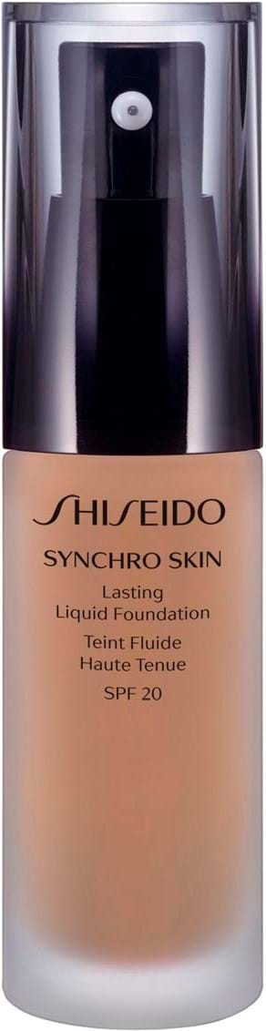 Shiseido Synchro Skin Lasting Liquid Foundation N° 4 Neutral 30 ml