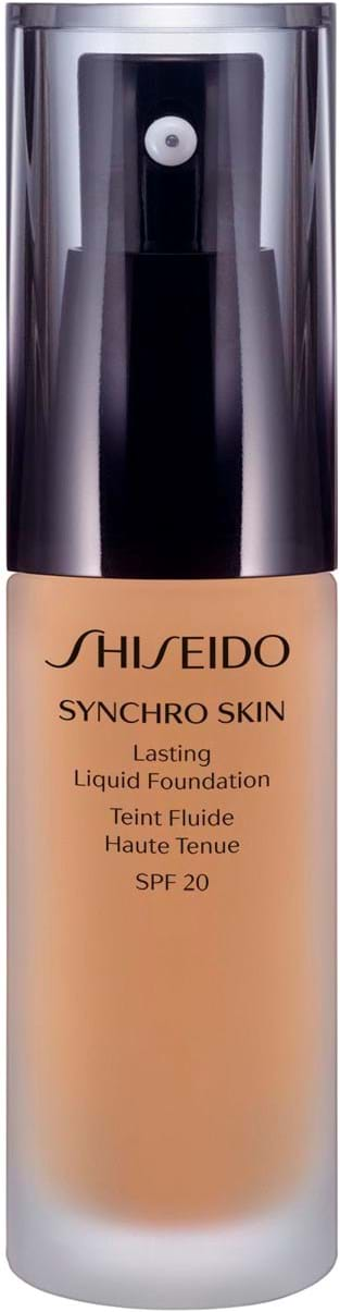 Shiseido Synchro Skin Lasting Liquid Foundation N° 3 Golden 30 ml