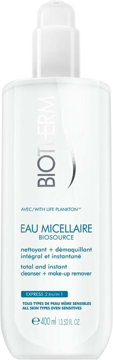 Biotherm Biosource Micellar Water Waterproof Cleanser 400 ml