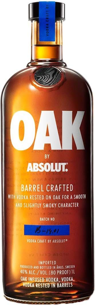 Absolut OAK 40 % 1L