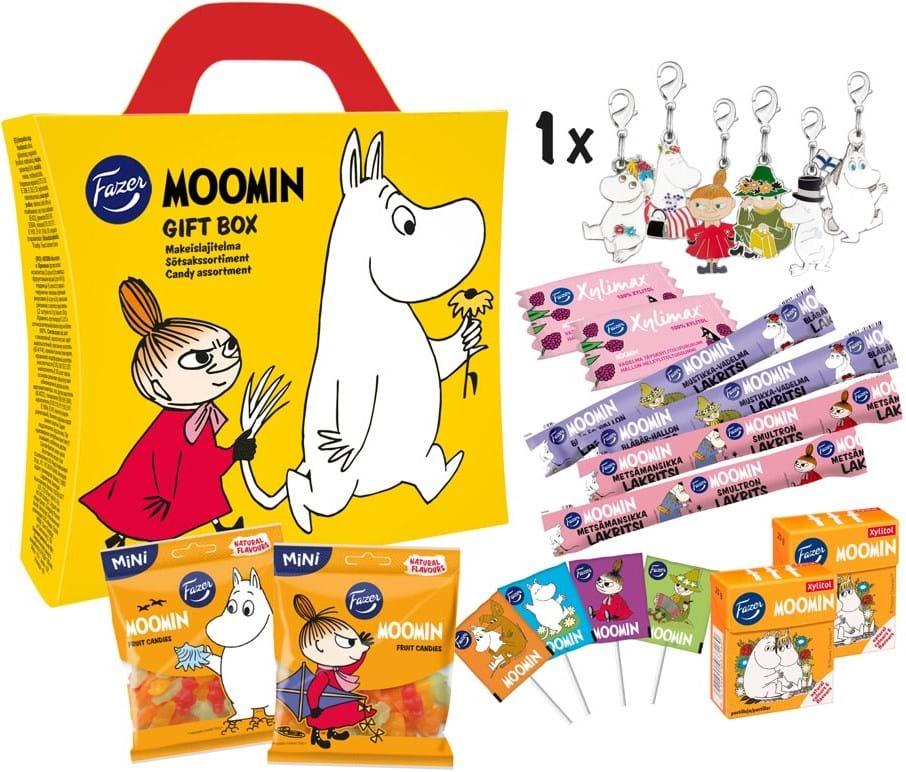 Moomin, gaveæske, 318g