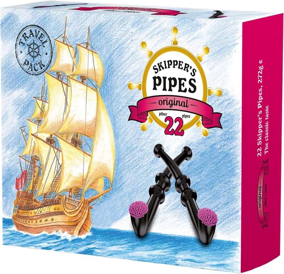 Skippers Pipes Orginal pakning med 22stk. 374g