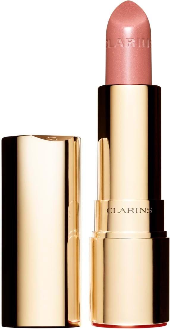 Clarins Joli Rouge Brillant-læbestift N°28 Pink Praline