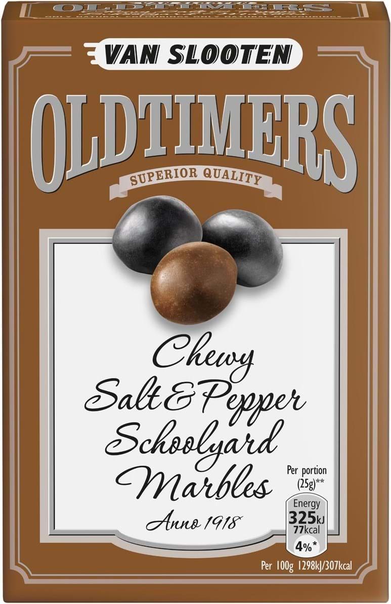 VSl Oldtimers Salty Salmiak Liquorice 225g