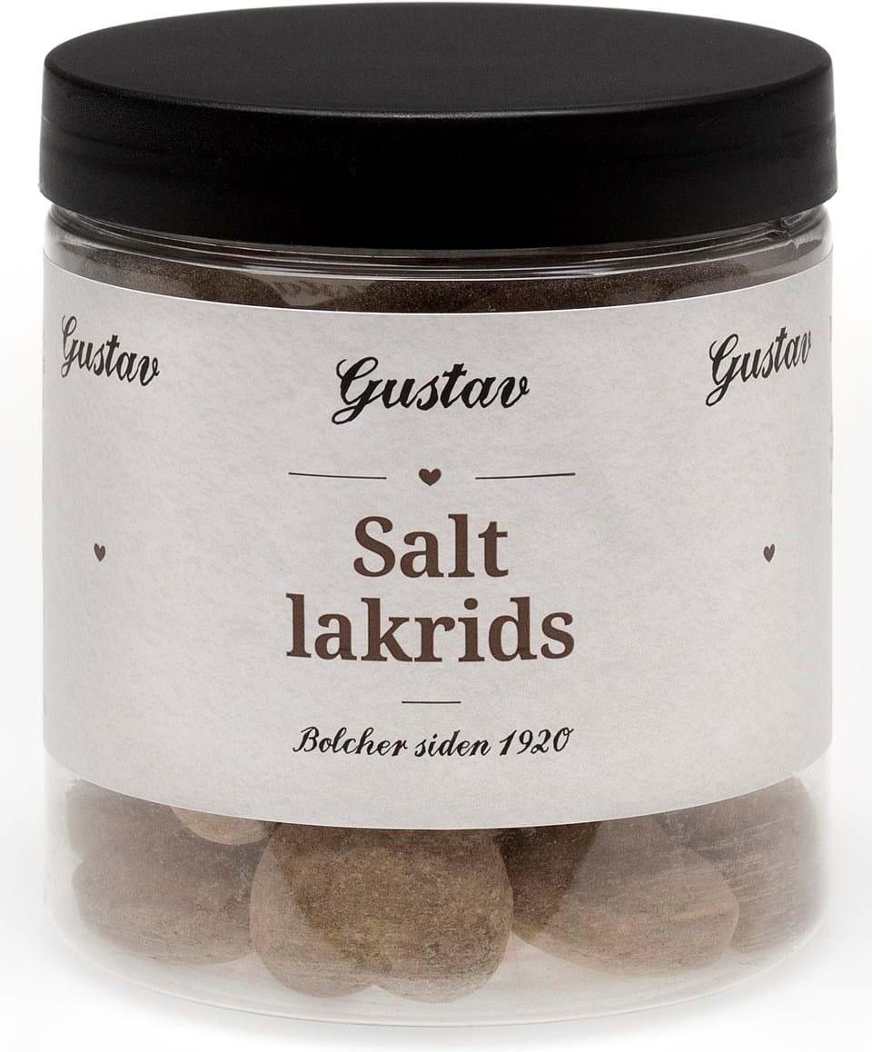 Heede Bolcher Gustav Salt Liquorice Candy 170g
