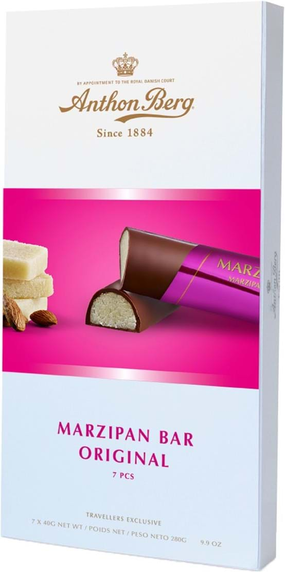 Anthon Berg Original Marzipan Bar 280g