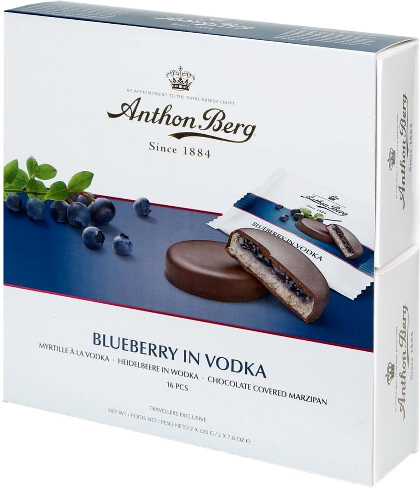 Anthon Berg Blueberry in Vodka 440g