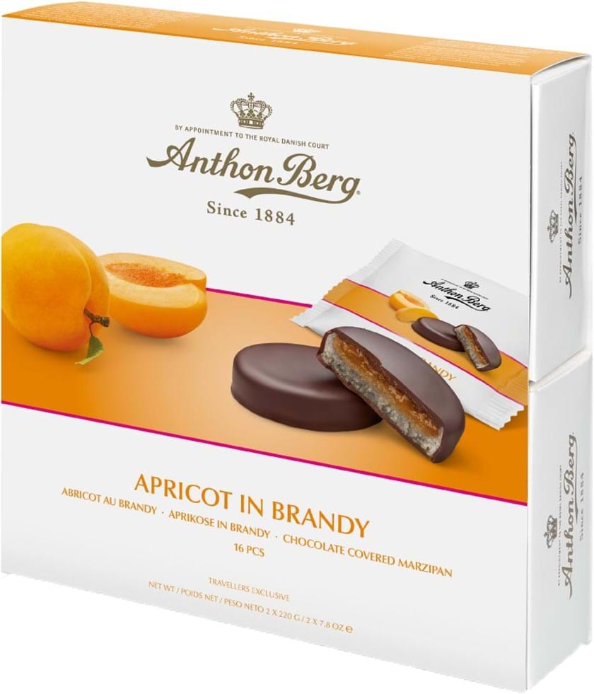 Anthon Berg Apricot in Brandy 440g