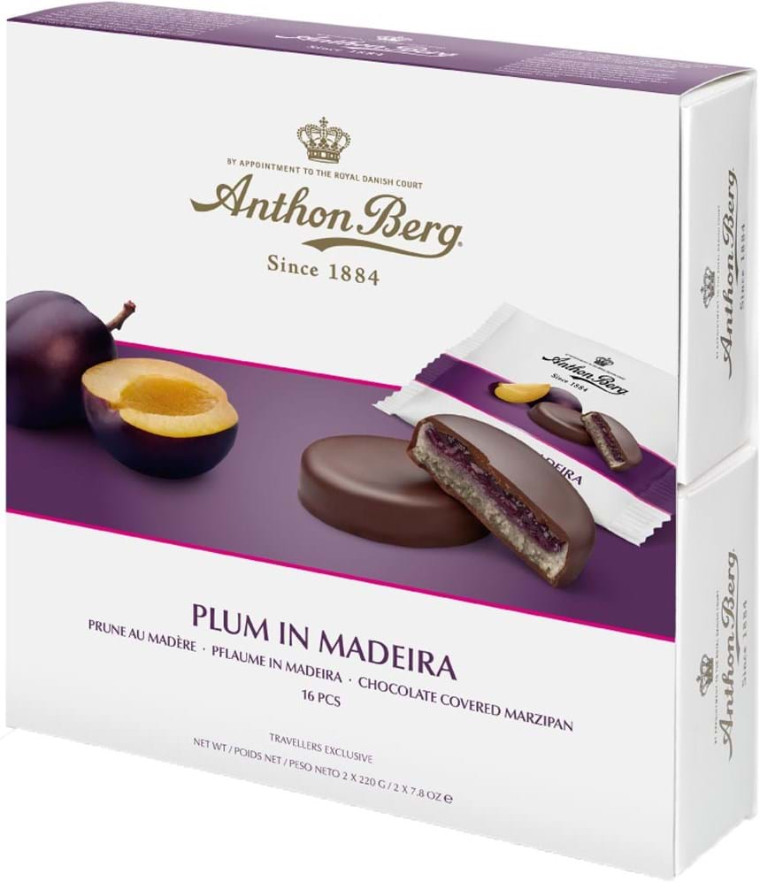 Anthon Berg Plum in Madeira 440g
