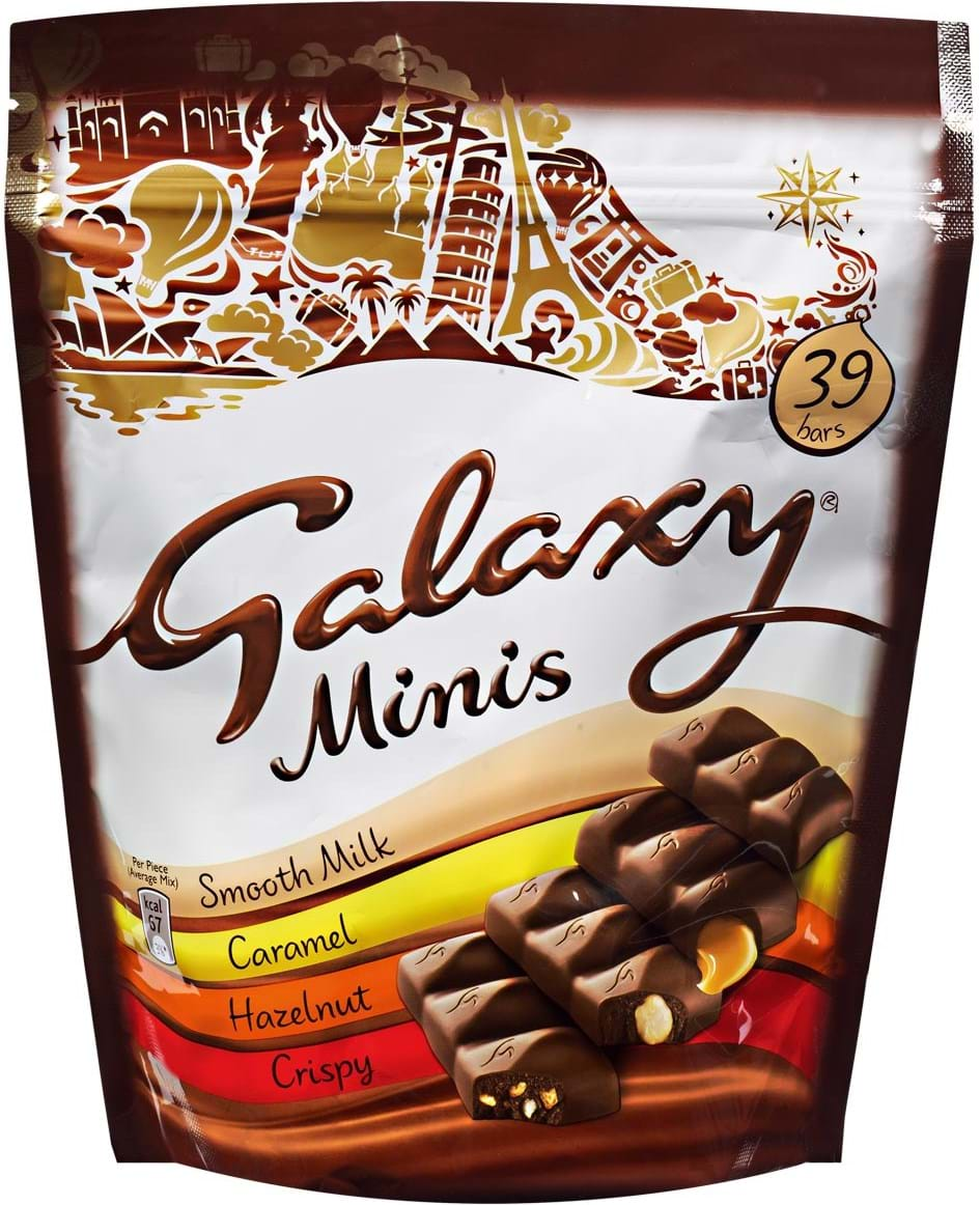 Galaxy Mixed Minis Pouch 491.5g