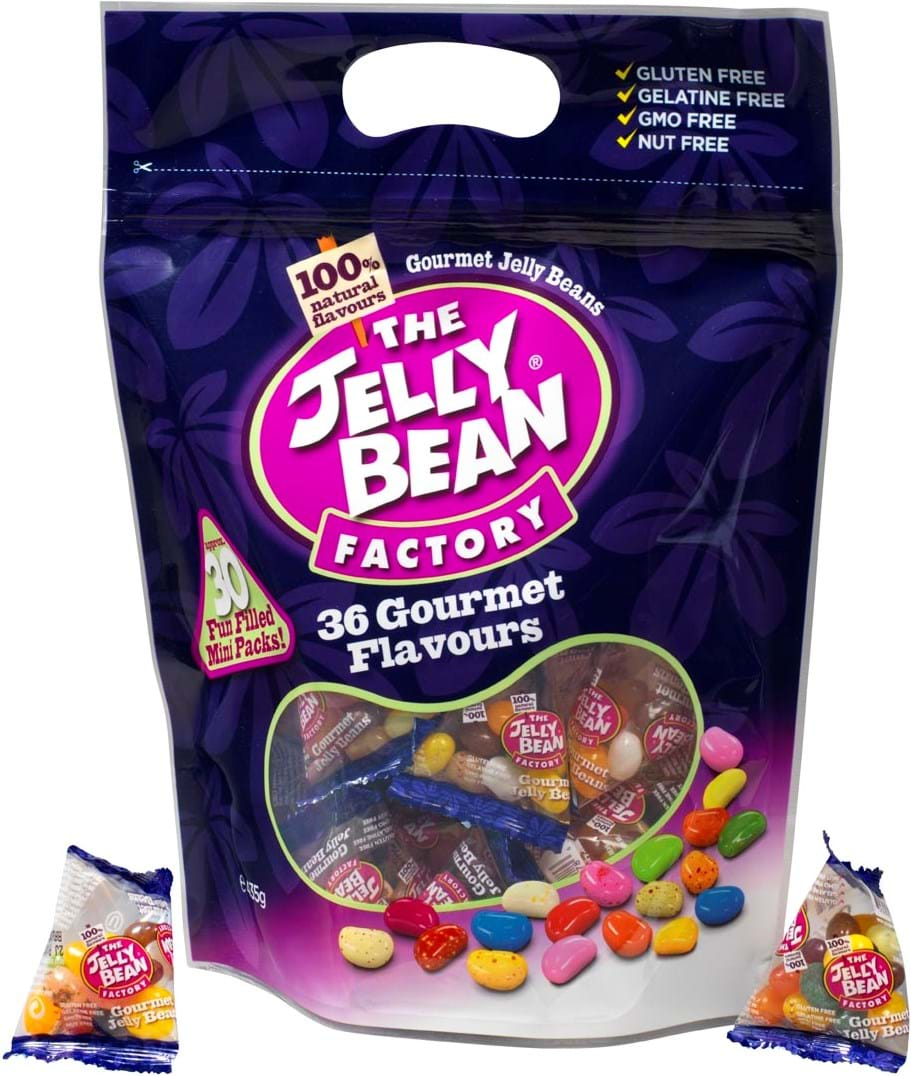 The Jelly Bean Factory - 36 Gourmet Flavours Sharing Bag 435g