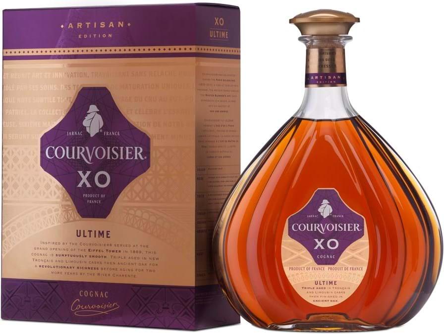 Courvoisier Artisan XO Ultime 40%, 0,7L, gaveæske