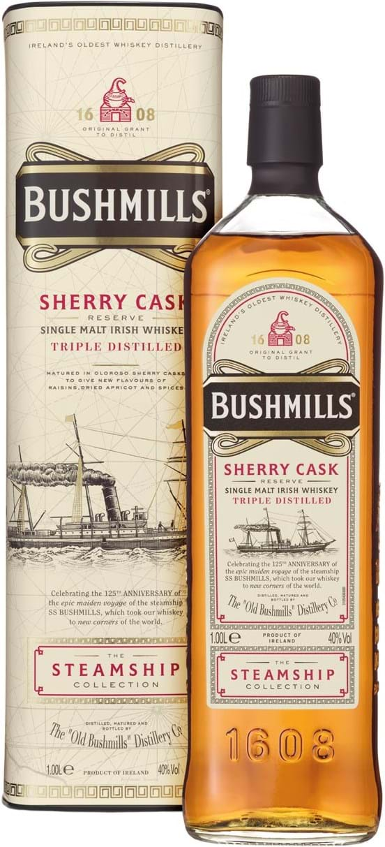 Bushmills Steamship Collection Sherry Cask Reserve 40 % 1L