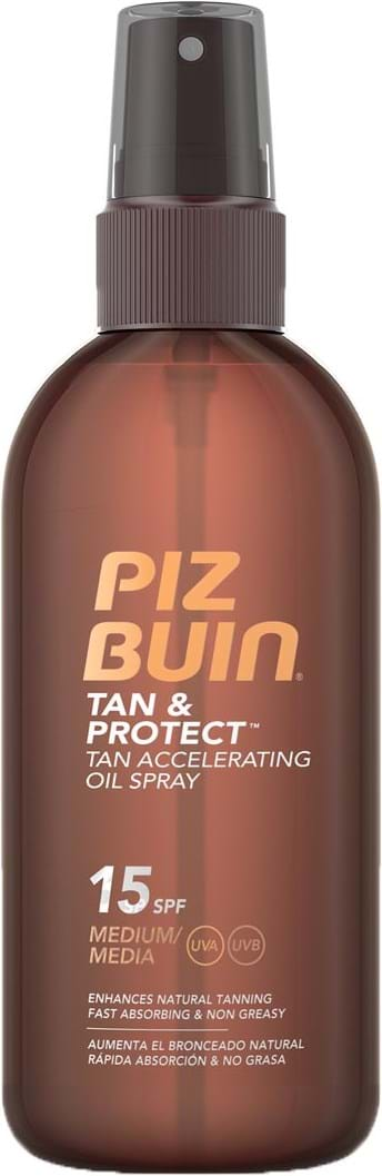 Piz Buin Tan & Protect Dry Oil Spray SPF 15 150 ml