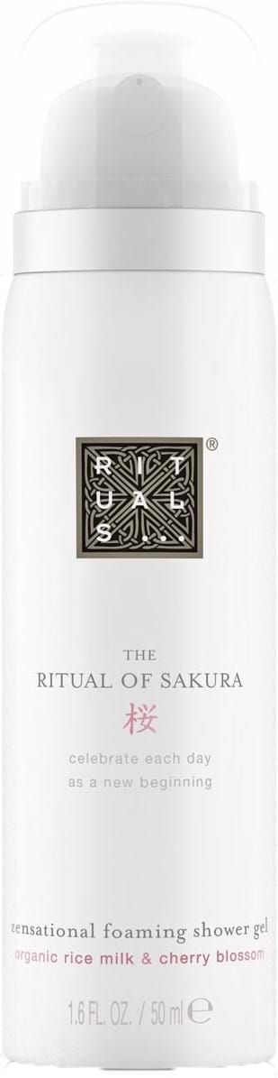 Rituals Cosmetics The Ritual of Sakura Foaming Shower Gel 50 ml