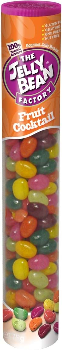 The Jelly Bean Factory – Fruit Cocktail, rør med 175g