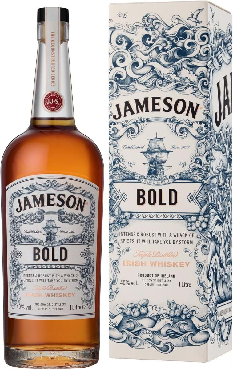 Jameson Deconstructed Series Bold 40% 1L