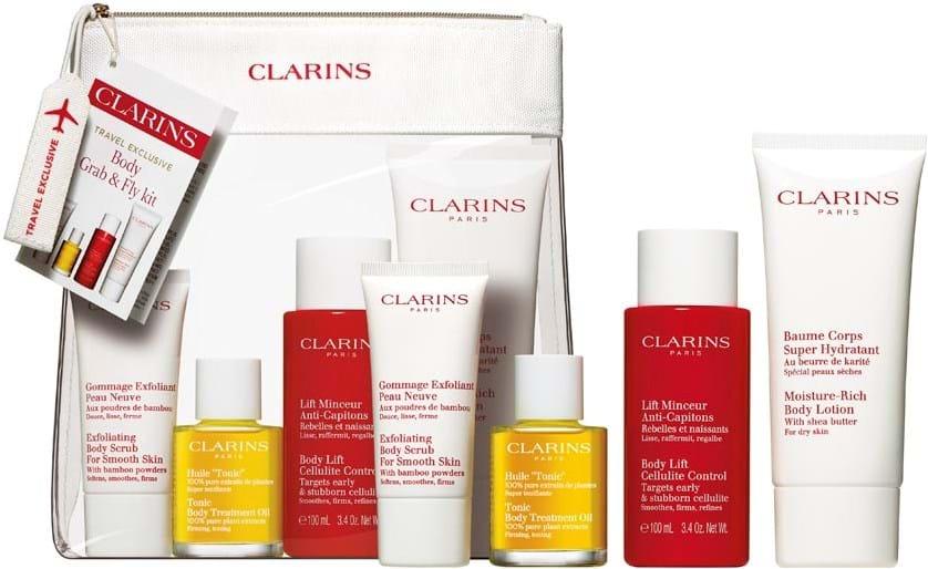 Clarins Take Off Perfect Body-hudplejesæt
