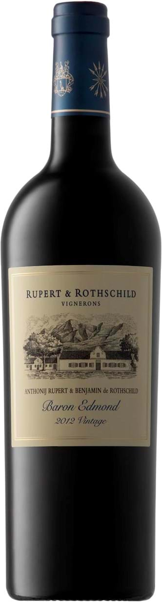 Rupert & Rothschild, Baron Edmond, Western Cape, Wine of Origin, dry, red, 0.75L