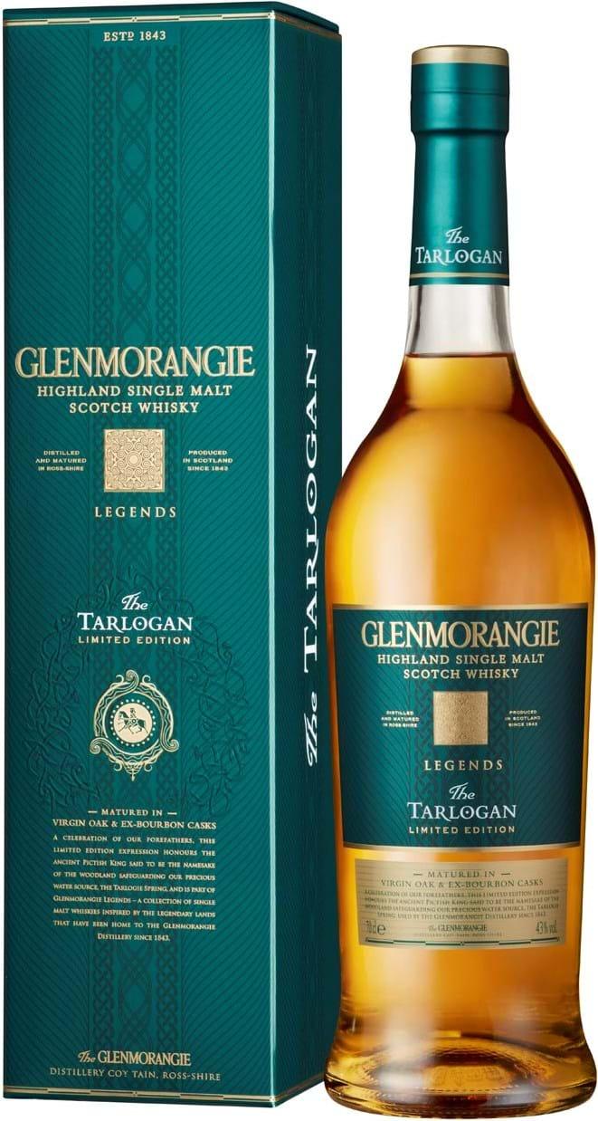 Glenmorangie Tarlogan 43% 0,7L, gaveæske