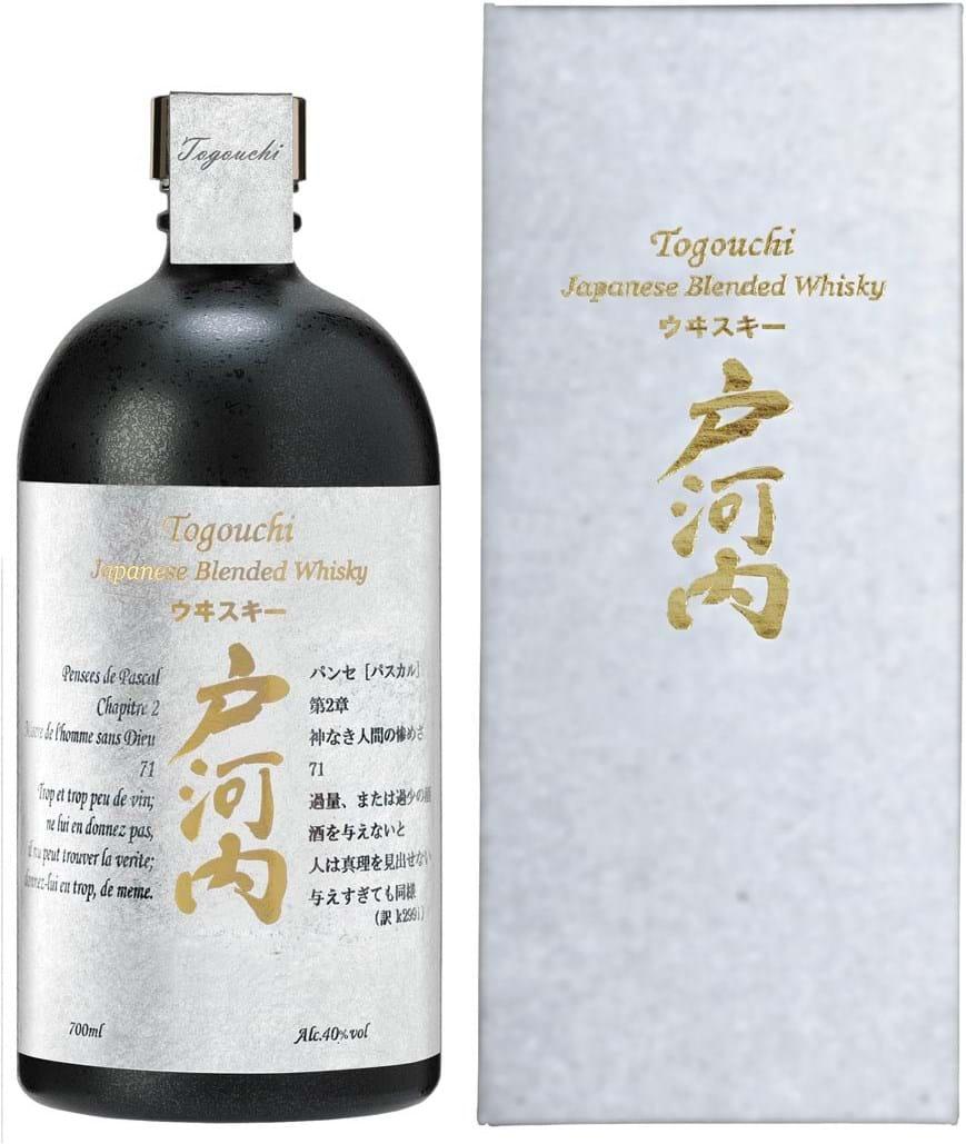 Togouchi Premium Blended Whisky 40% 0.7L Giftpack