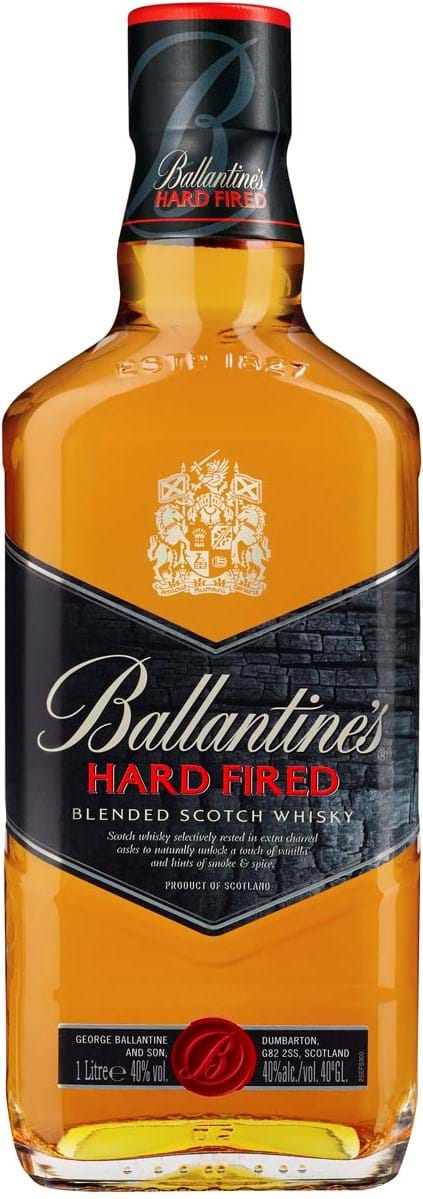 Ballantines Hard Fired 40 % 1L