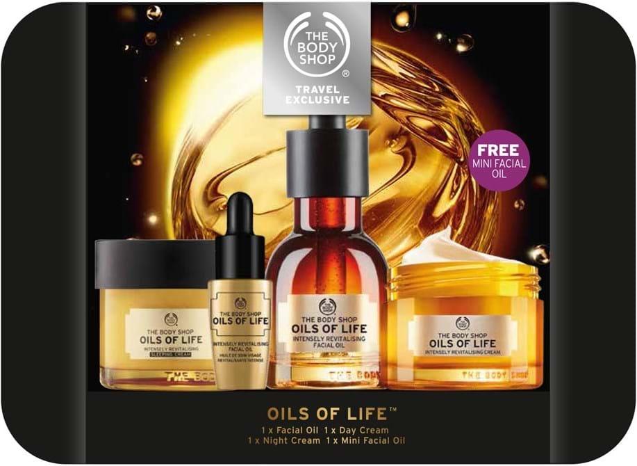 The Body Shop Oils Of Life Set