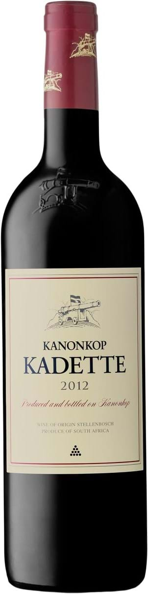 Kanonkop, Kadette, Cape Blend, Wine of Origin, Stellenbosch, tør, rød, 0,75L