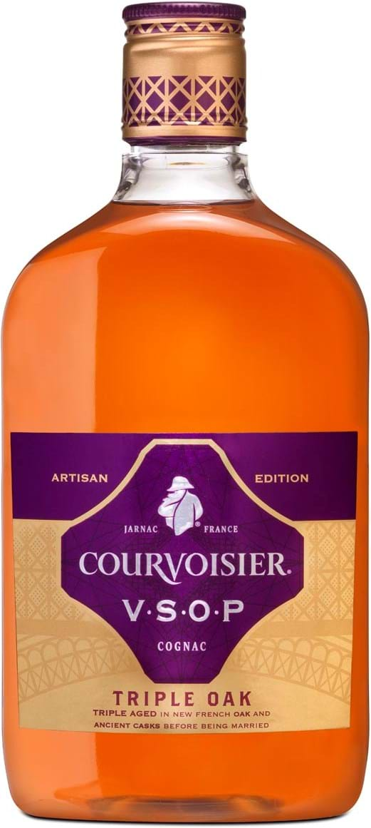 Courvoisier Artisan VSOP Triple Oak 40% 0.5L, giftbox