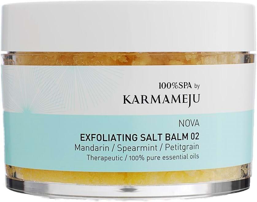 Karmameju saltbodyskrub 02 Nova 350ml