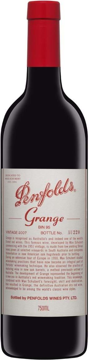 Penfolds, Grange, BIN95, Sydaustralien, tør, rød (gaveæske) 0,75L