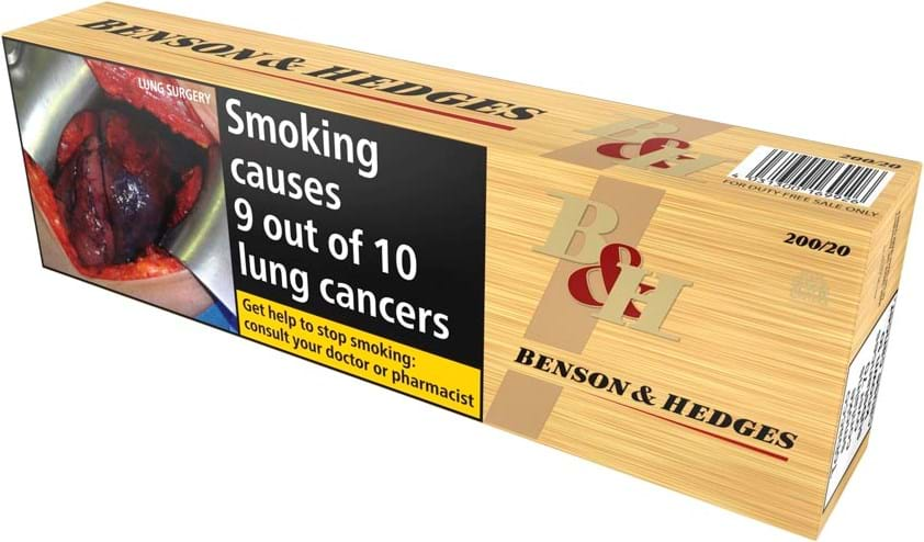 Benson & Hedges Gold 200 stk.