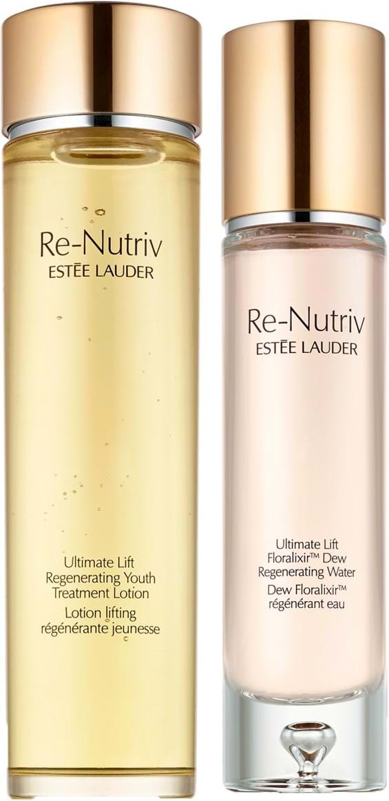 Estée Lauder Re Nutriv Ultimate Lift, toner og renser, Floralixir Dew Regenerating Water