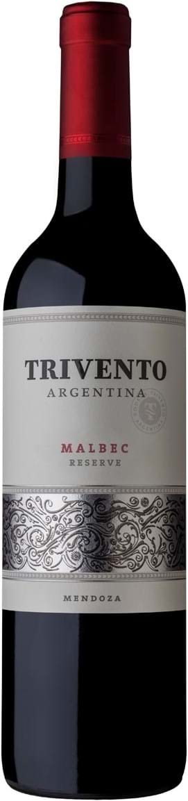 Trivento, Reserve, Malbec, Mendoza, tør, rød, 0,75L