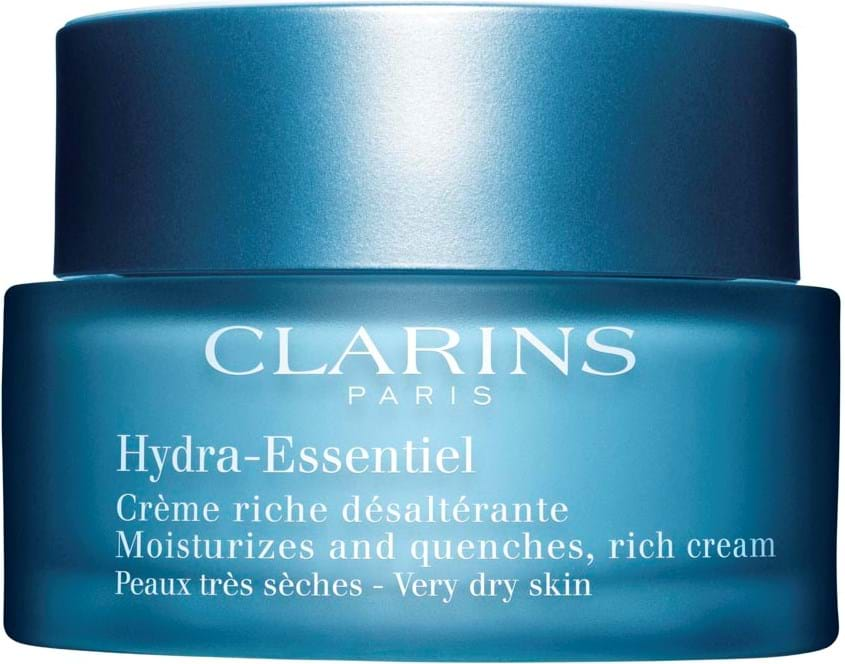 Clarins Hydra Essentiel Moisturizes and Quenches, Rich Cream, Very Dry Skin 50 ml