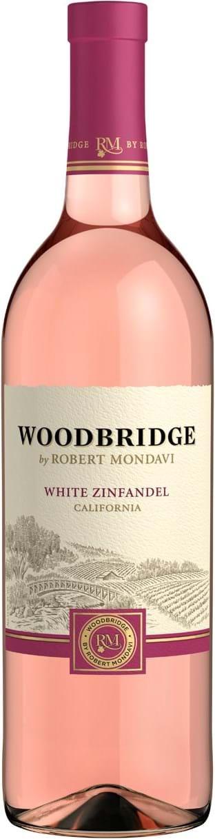 Robert Mondavi, Woodbridge, hvid Zinfandel, halvsød, rosé 0,75L