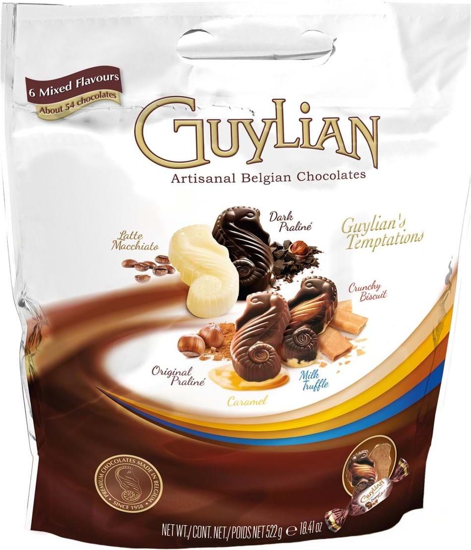Guylian Temptations Mix Pouch Pack Standard 522g