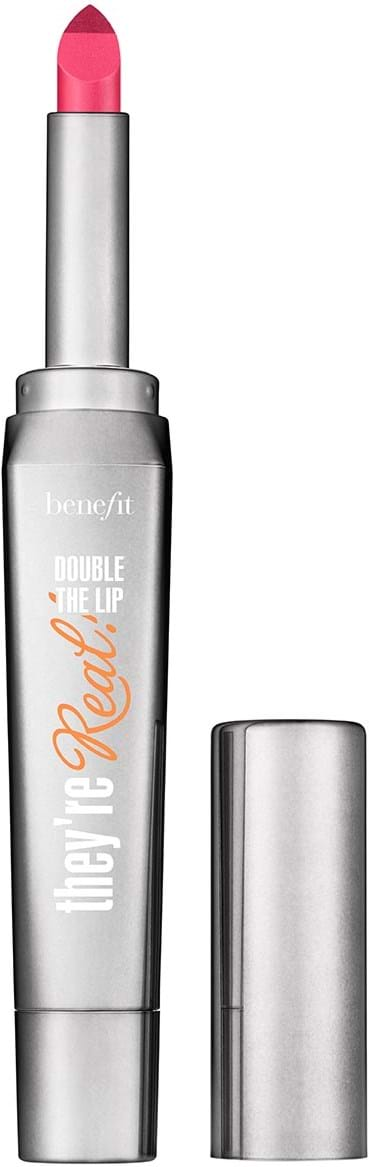 Benefit They're Real! Double the Lip læbestift Criminally Coral