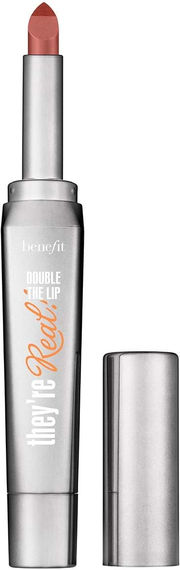 Benefit They're Real Double the Lip Lipstick Lusty Rose
