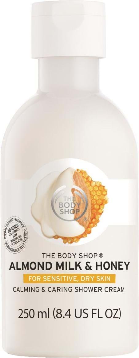 The Body Shop Almond Milk & Honey-brusegel 250ml