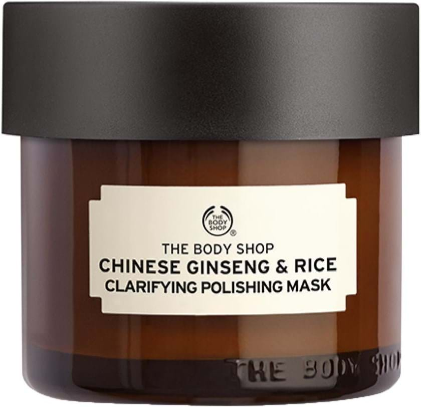 The Body Shop Remedies Of Nature Chinese Ginsend and Rice rensende og polerende maske 75 ml