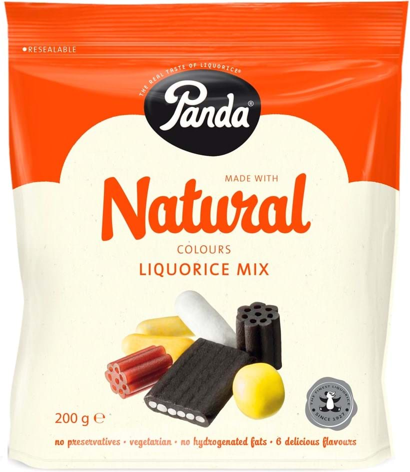 Panda Natural Liquorice Mix 200g