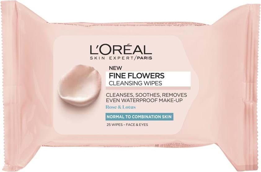 L'Oréal Paris Fine Flowers Wipes Normal to Combination Skin