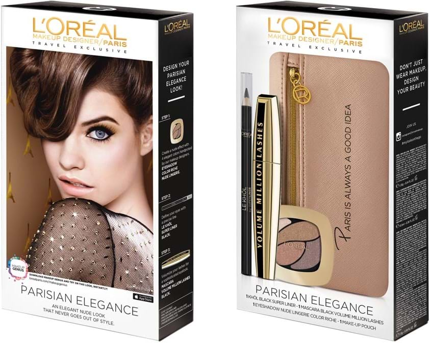 L'Oréal Paris Looks-On-The-Go Parisian Elegance Set