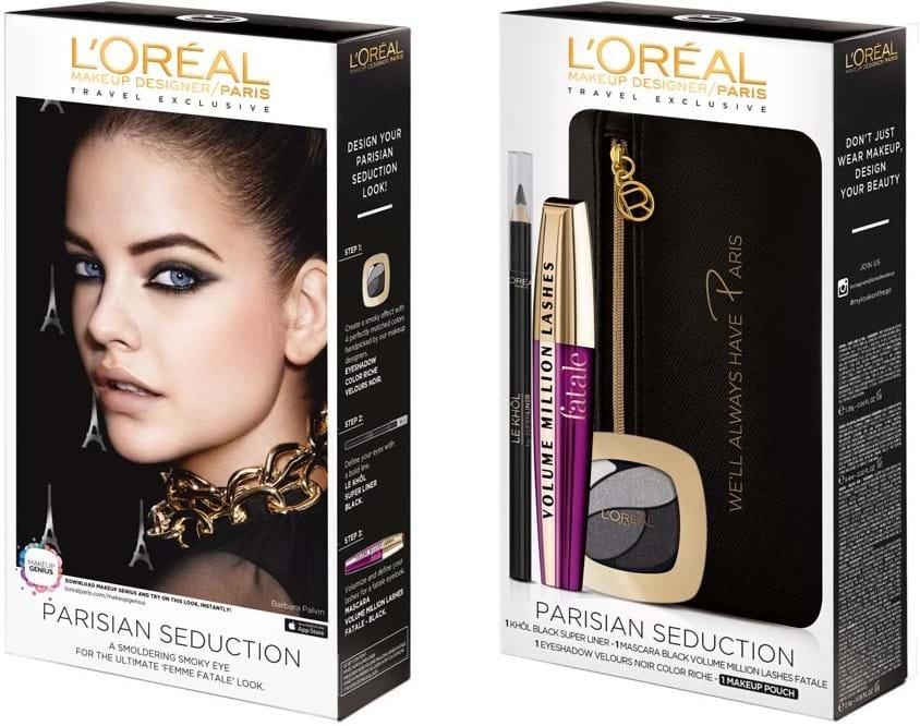 L'Oréal Paris Looks-On-The-Go Parisian Femme Fatale-sæt