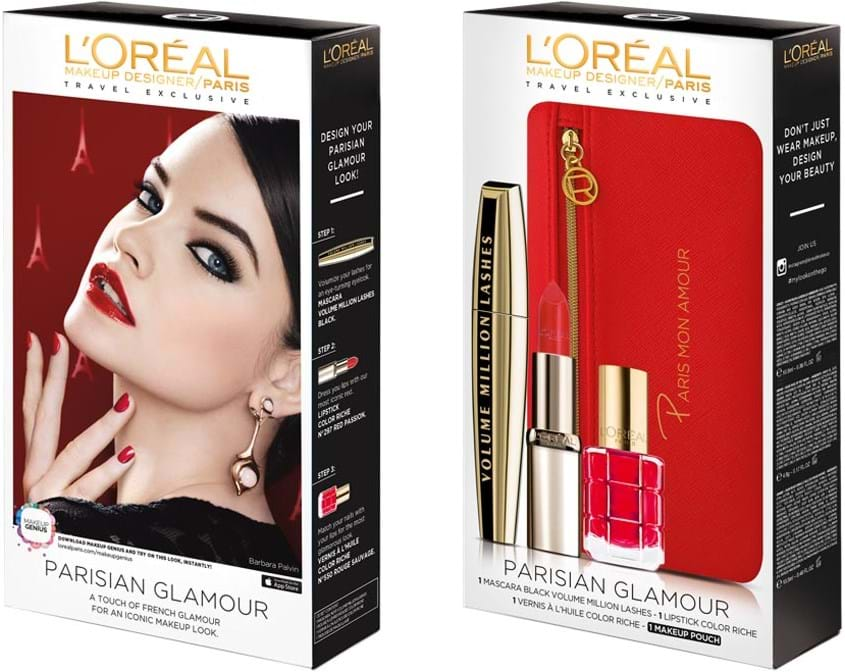 L'Oréal Paris Looks-On-The-Go Parisian Glamour‑sæt