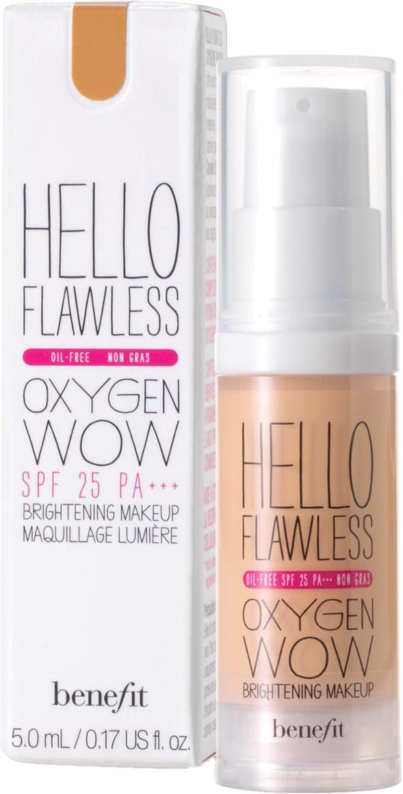 Benefit Hello Flawless oxygenfoundation Hopelessly Hot 30ml