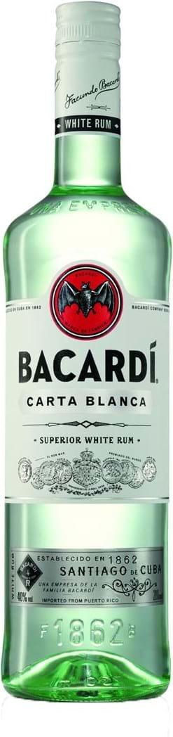 Bacardi Carta Blanca 37.5% 0.2L