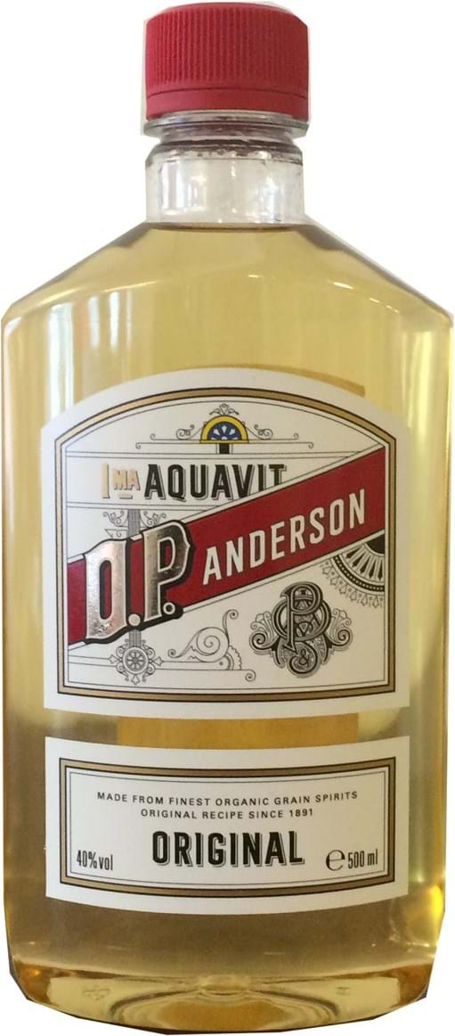 O.P. Anderson Original 40% 0.5L, PET, BIO
